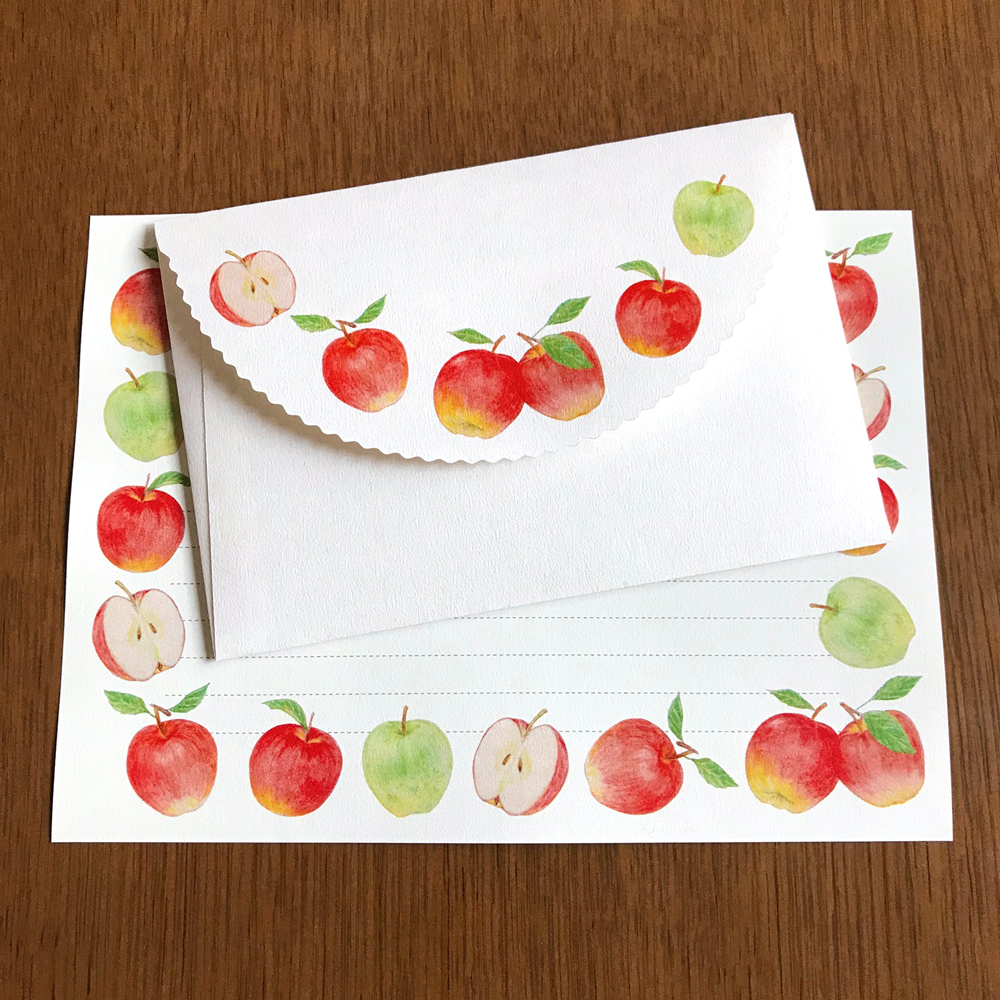 Letter Set Apple